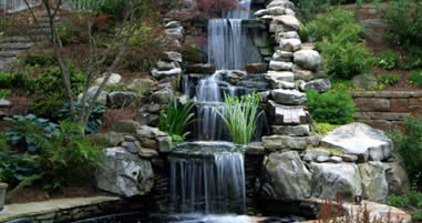 Water Feature Installation in Binghamton, Endicott, and Vestal, NY